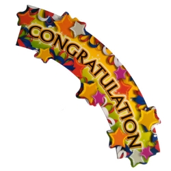 Giant Congratulation Card
