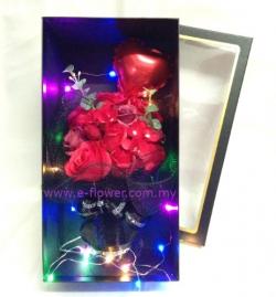 Red Fragrance Soap Rose