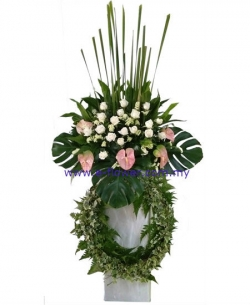 Fresh Flora Wreath